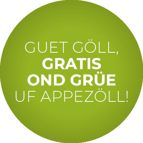 Appenzell - grün ins Grüne