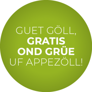 Appenzell Gratis-Button